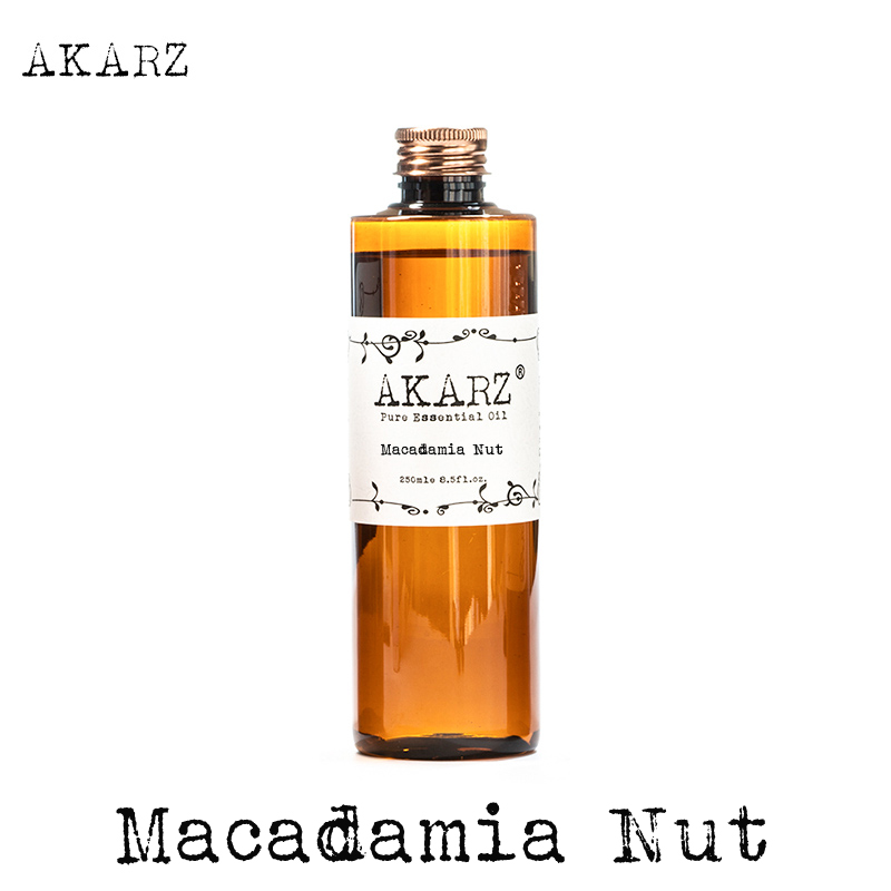 AKARZ Famous Brand Macadamia Nut Essential Oil Natural Aromatherapy High-capacity Skin Body Care Massage Spa Macadamia Nut Oil