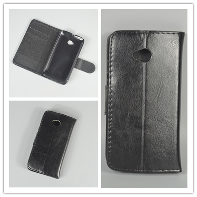Crystal grain wallet case hold two Cards and pouch slot for Motorola XT1527 XT1511 XT1505 XT1524 Moto E2 E 2nd Gen