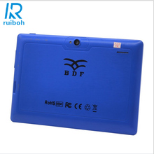 7 inch FlashTablet PC A33 Android Quad Core WiFi Bluetooth Tablet PC 512MB 16GB 3G External have flash 7 inch Tablet