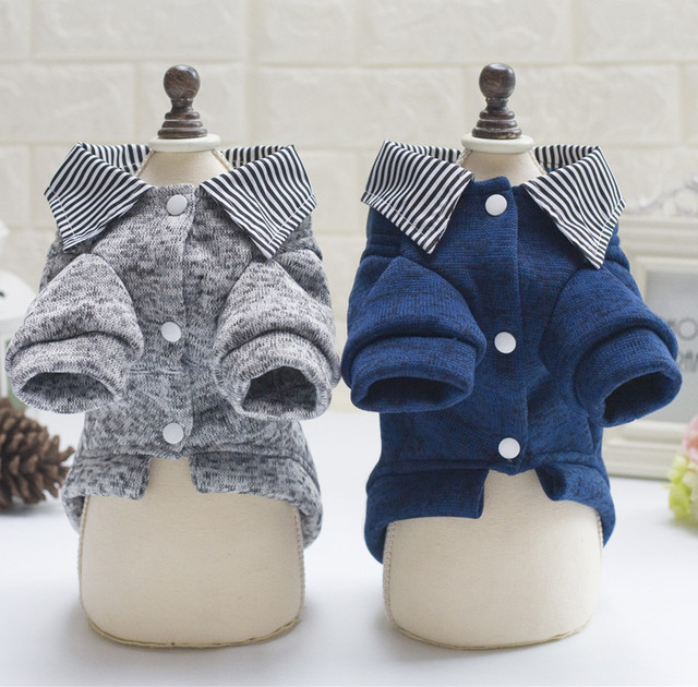 Dog Clothes Winter Warm Dog Coat Jackets Puppy Hoodies Sweater Outfits for Small Dogs Teddy Yorkshire Chihuahua Clothes 9CY40