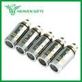 5 unids/pack original joyetech c3 doble cabezal atomizador resistencia 1.6ohm bobina dual compatible con joyetech delta serie atomizador