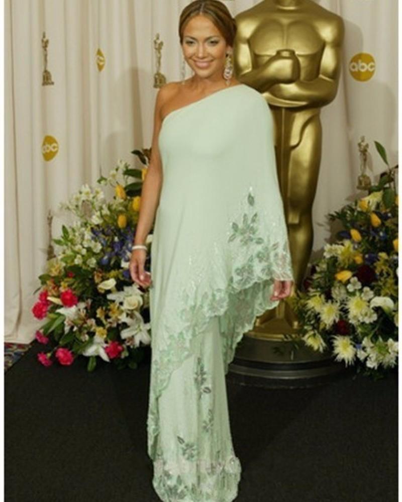 0114c39f1740 ... Dubai-Jennifer-Lopez-Natural-Celebrity-Dresses-Asymmetrical-One- ...