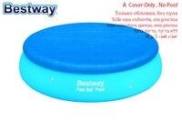 58032 Bestway 244 см PE покрытие для бассейна/крышка для защиты от пыли/дождевик для плавательного Бассеина/занавесочная ткань/Анти-пыль бассейн кры...