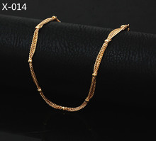 2016 Multilayer Gold Anklet Beach Foot Jewelry Barefoot Sandals Summer Jewelry Cute Ocean Beach Bracelet 014