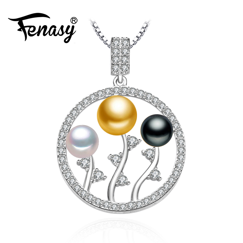 FENASY 925 sterling silver bohemian Pearl beads necklace leaves chain necklace,pearl jewelry friendship pendant necklace womenFENASY 925 sterling silver bohemian Pearl beads necklace leaves chain necklace,pearl jewelry friendship pendant necklace women