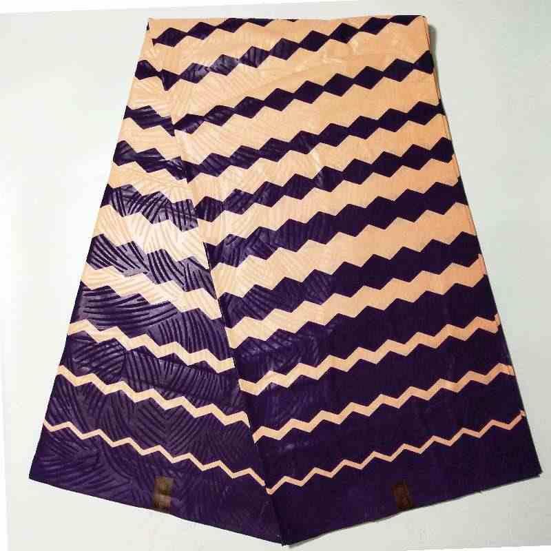3 jardas nova moda rosa testemunho africano azul nova moda ancara cera de tecido nigerian 100% algodão cera
