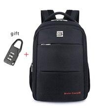 Männer Rucksäcke Bolsa Mochila für Laptop 14 Zoll 15,6 Zoll Notebook Computer Taschen Männer Rucksack Schule Rucksack + Freies geschenk