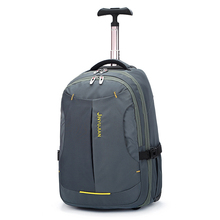 LeTrend large capacity Oxford Travel Bag Men password Rolling Luggage Men's Backpack Suitcases Wheel Carry On Shoulder Bags