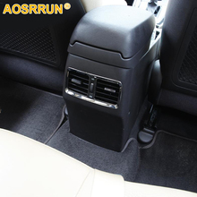 ABS car Accessories after discharge outlet armrest decorative stickers For Hyundai Elantra 2012 2013 2014 2015 2016