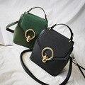 vintage casual hotsale backpack fashion chain shoulder bag ofertas famous designer brand Diamond lattice Nubuck leather