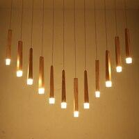 Япония Стиль простой деревянной подвесной светильник современный черный, белый цвет абажур деревянные подвесные светильники Обеденная по