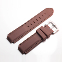 Rubber Watchbands For TIMEX t2n720 t45601 t2n739 Men Watch S
