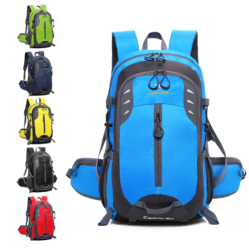 Simple Large Capacity 2019 Men Travel Backpack 40 L Woman Light Waterproof Nylon Sports Backpack