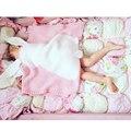 Children's air-conditioning blanket baby boys girls Knitted rabbit hair quilt Baby Blankets Kids Autumn Rabbit quilts 2017