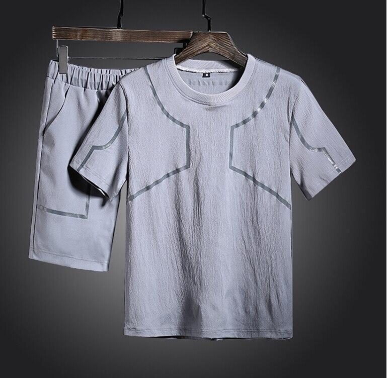 Summer Tracksuit Clothes 2018 Mens 2pcs set for man top quality SA4
