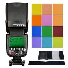 Godox tt685n 2.4 г HSS 1/8000 S I-TTL GN60 Беспроводной Вспышка Speedlite для Nikon D800 D700 d7100 D7000 D5200 D5100 D5000 D300 D300s
