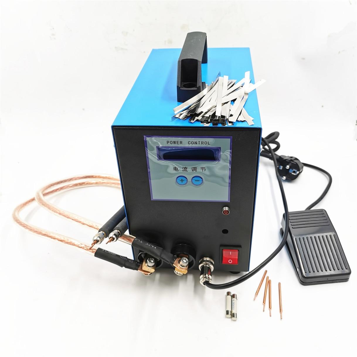 Solda ponto 18650 10KW soldador local da bateria 110 V/220 V portátil máquina de solda a ponto soldador de solda a ponto máquina