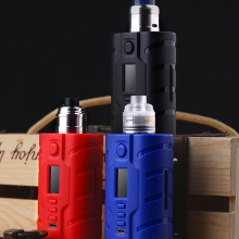 In stock VAPECIGE VTX SQUONK MOD 200W KIT Powered by DNA250C Chip 200W Squonk Box Mod newest hugsvape surge squonk kit 80w surge squonk mod with piper rda atomizer powered by single 18650 battery vs athena kit