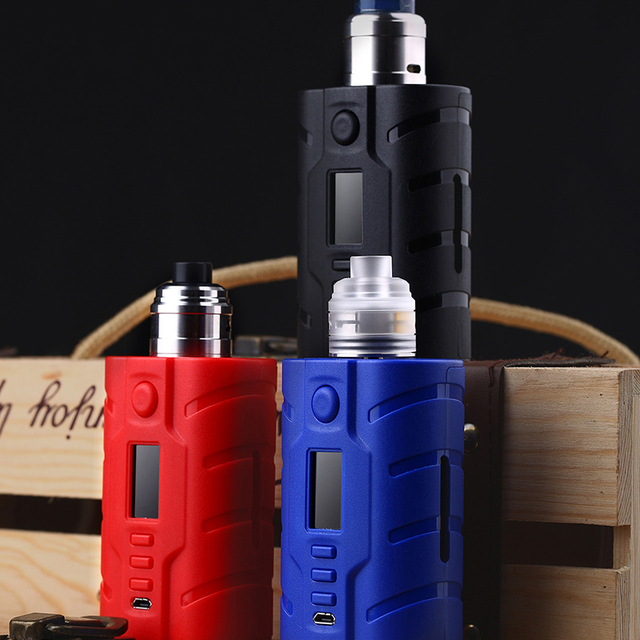 US $129 0 |In stock VAPECIGE VTX SQUONK MOD 200W KIT Powered by DNA250C  Chip 200W Squonk Box Mod-in Electronic Cigarette Kits from Consumer