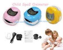 Pediatric Baby Heart Rate Children Fingertip Pulse Oxygen Blood  Oximeter Monitor