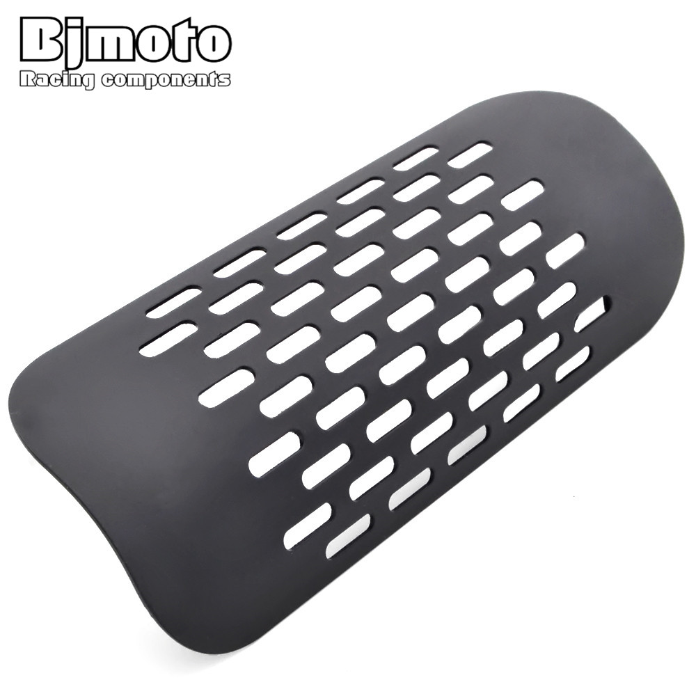 BJMOTO EHS-007 Motorcycle Exhaust Cover Muffler Heat Shield Cover Heel Guard Exhaust Decorative Pipe For Harley Suzuki Yamaha