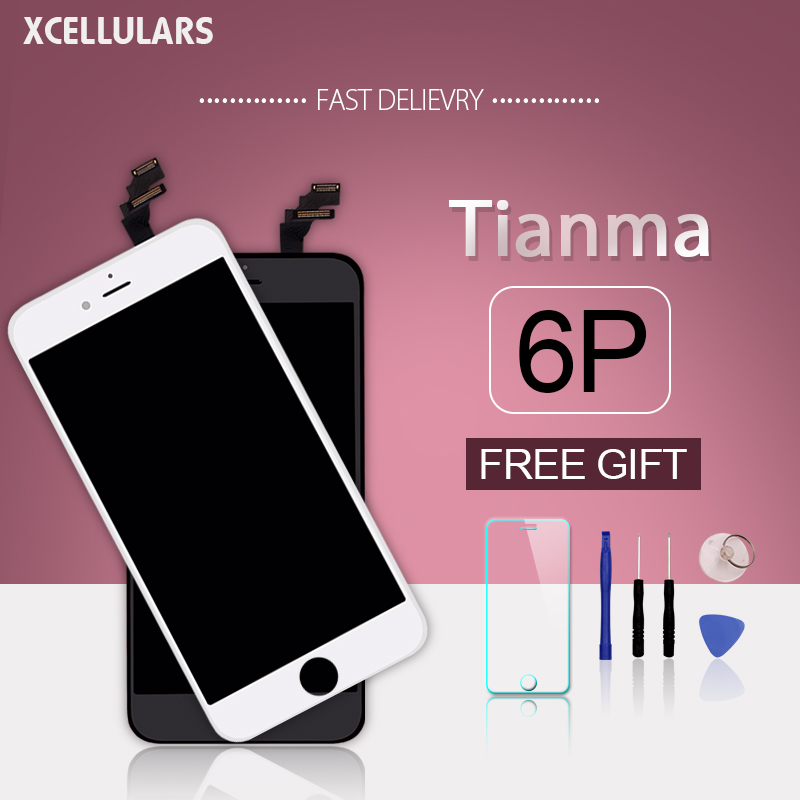 10pcs lot For TianMa iphone 6p Highscreen 100 Tested No Dead For Apple iPhone 6p LCD