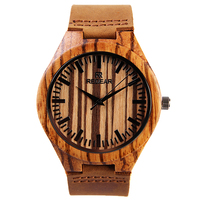 Лучший бренд класса люкс часы Для мужчин кварцевые наручные часы деревянные круглые кожи человека Часы Спорт Relogio masculino японский двигаться ...