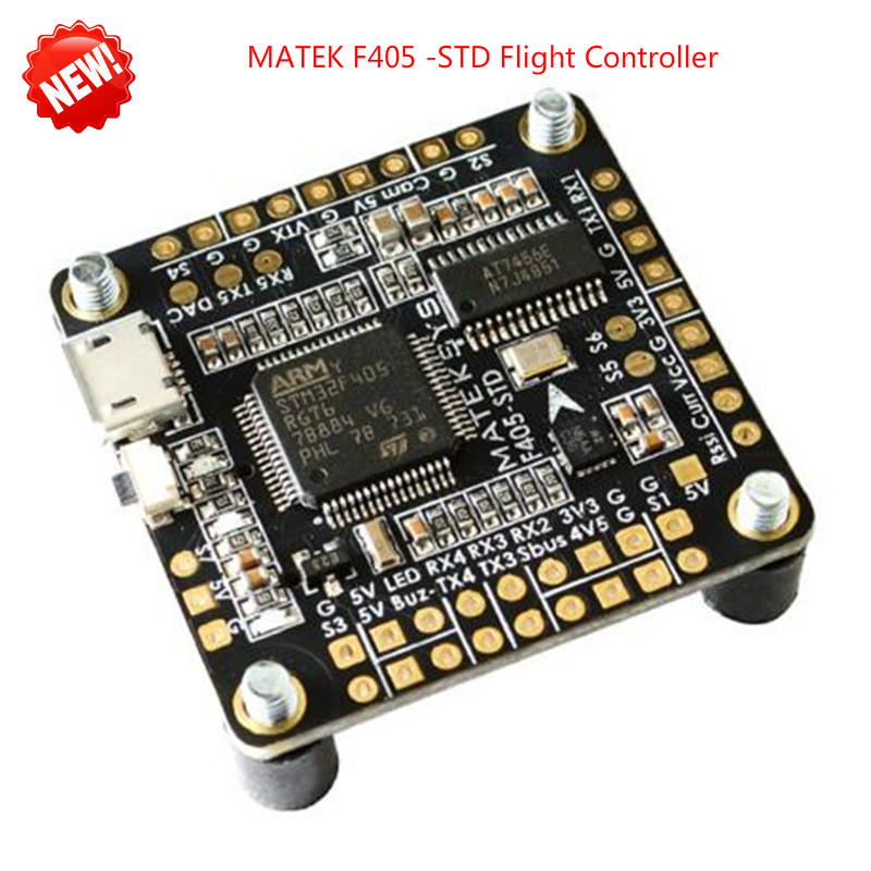 Matek F405-STD Flight Controller Betaflight OSD FCHUB-6S PDB F405 Flight Control Board DShot outputs STM32F405 For FPV RC Drone цены онлайн