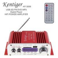 10 PCS HY3006 DC 12V Digital Car Amplifier Sound Mode Amplifier Display USB MP3 DVD CD