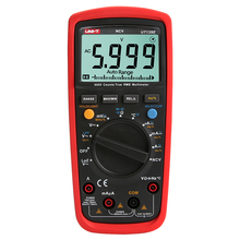 KKMOON Digital Multimeter True RMS LPF Low Pass Filter LoZ AC/DC Voltage current Temperature Res Freq Test
