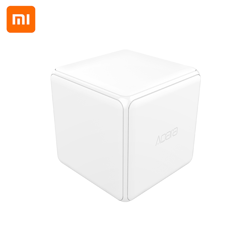 Xiaomi Aqara Magic Cube Controller Zigbee Version Controlled by Six Actions For Smart Home Device work with mijia home app-in Smart Remote Control from Consumer Electronics