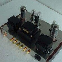 Kit DIY classe Um amplificador de tubo de vácuo AMPLIFICADOR VALVULADO 6n9p + EL34-B 13 W + 13 W