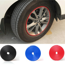 Car Wheel Hub Sticker Strip Rim Tire Protection Auto Accessories for Mercedes Benz A180 A200 A260 W203 W210 W211 AMG W204 C E S