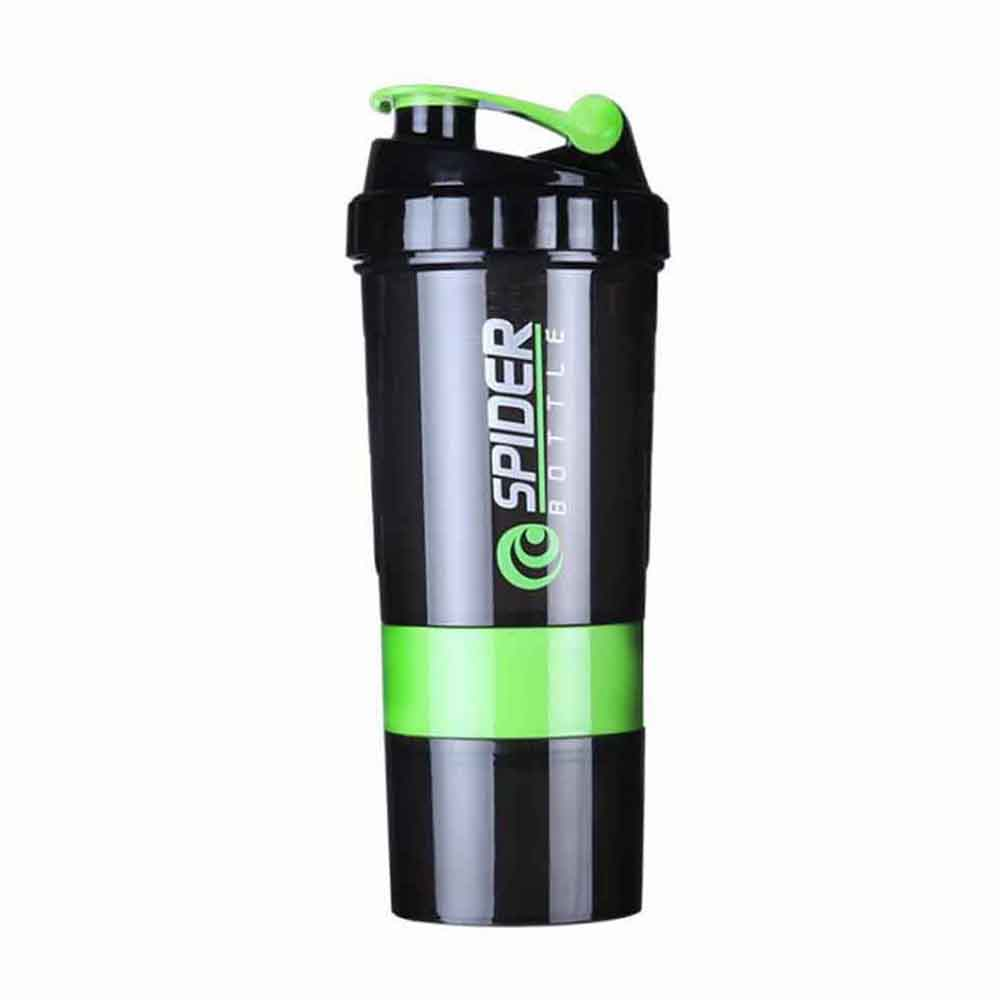 Hot 3 combination whey protein powder bottle for water shaker bottle for protein mezclador proteina Sports Vibrator Water Bottle in Shaker Bottles from Home Garden