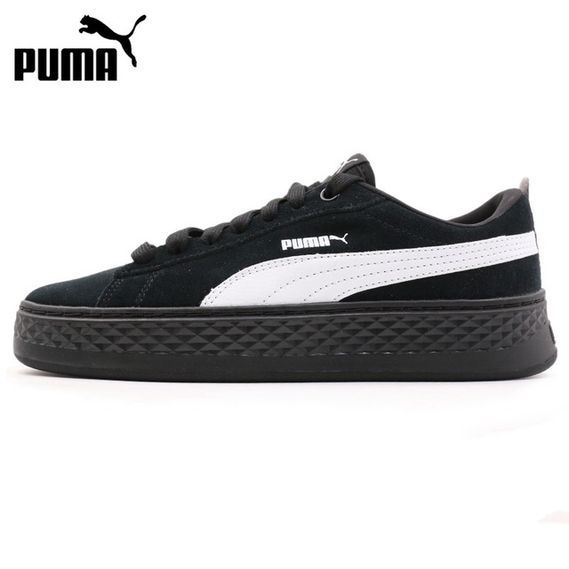 43c965e3a46 Original New Arrival 2018 PUMA Smash Platform SD Women s Skateboarding  Shoes Sneakers
