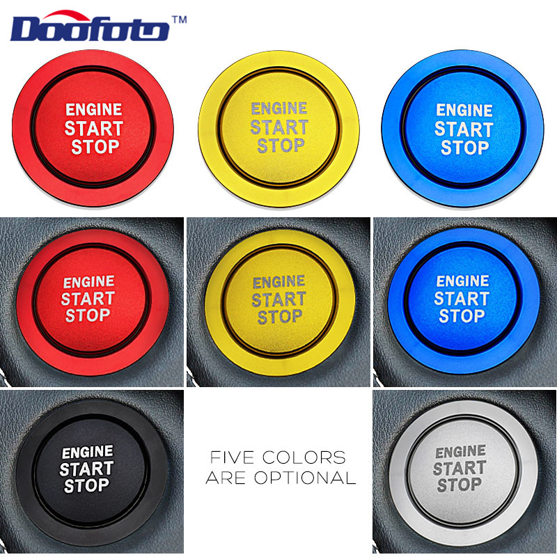 Start Engine Button Ring for TOYOTA (21)