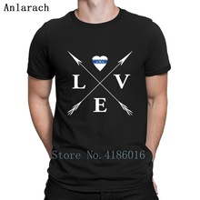 Love Arrows Crossed Thin Blue Line T Shirt Letters Fitness C