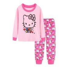 Купить с кэшбэком  Christmas Children Super Warm Cotton Clothing Suit Baby Girls Boys Deer Pyjamas T-shirt Stripe Pants 2pcs Kids Pajamas Set
