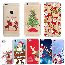 Soft Silicone Phone Cover For Huawei P30 Pro Mate 10 20 P10 P20 Lite Merry Christmas Phone Case For Iphone Xs Max XR 7 8 Plus 6s(China)