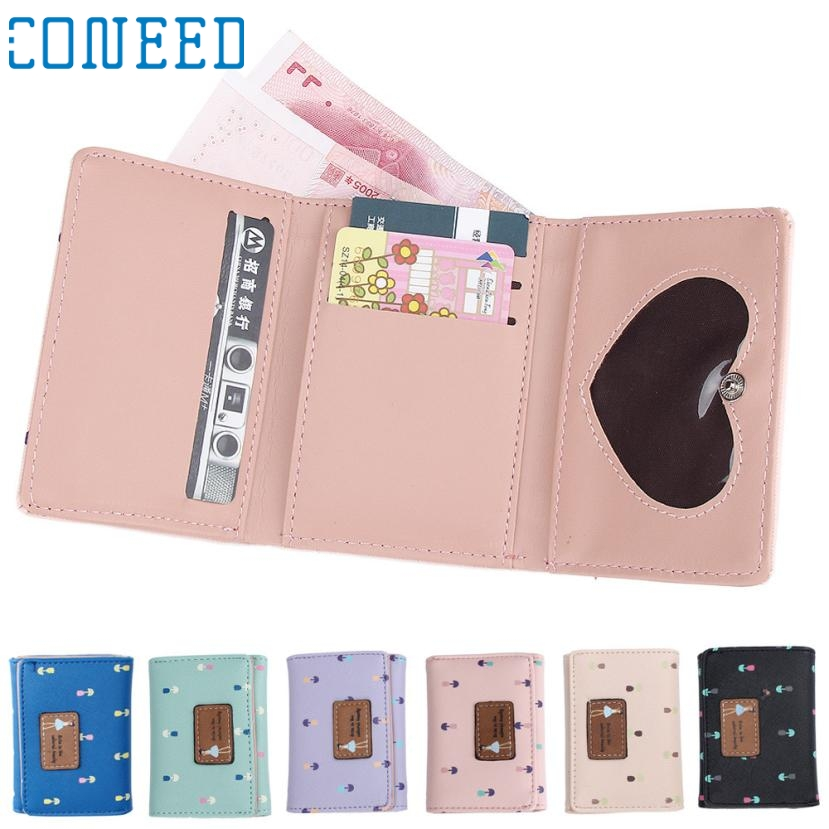 Charming Nice CONEED Best GiftNew Brand Hot Sale Women Wallet Small Fresh Wallet Bag Y25