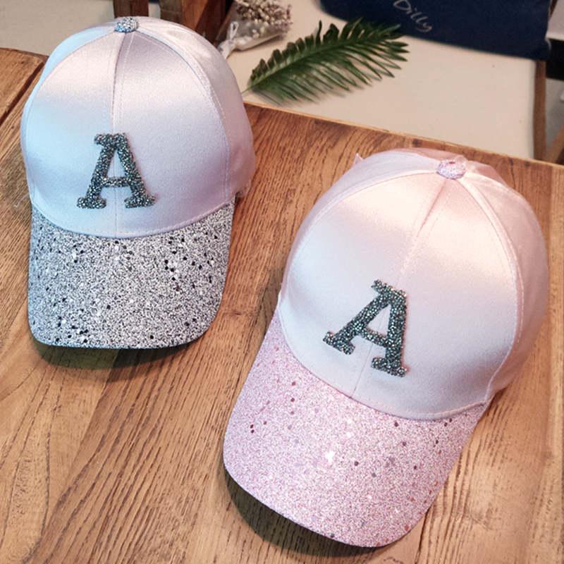 Baseball caps 2019 men's snapback cap dad hat rhinestone summer hat fashion hip hop cap women gorras para unisex beisbol gift 6