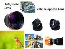 37 มม. 2X Telephoto เลนส์สำหรับ Olympus OMD EM10 II OM D E M10/Mark I II III 1 2 3 14 42 มม. เลนส์