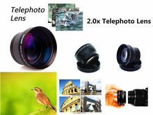 37mm 2X magnification Telephoto Lens for Olympus OMD EM10 II OM D E M10 / Mark I II III 1 2 3 with 14 42mm Lenses