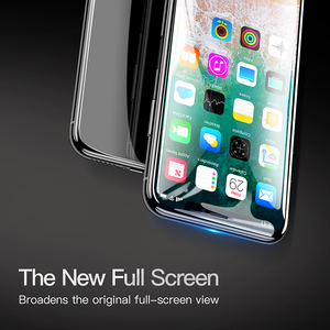 Image 4 - Baseus Screen Protector Tempered Glass For iPhone X 10 4D Surface Full Cover Protection Glass Film For iPhoneX Protective Glass