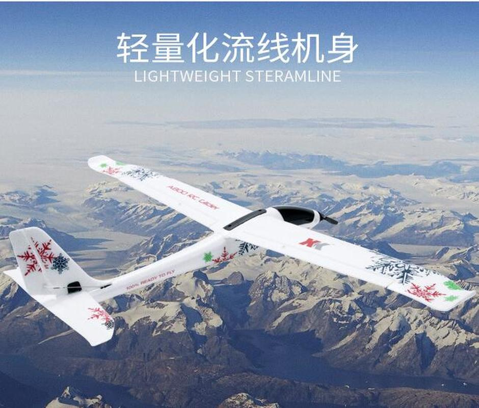 Image 3 - Aircraft Model A800 5CH 3D 6G Mode 780mm Wingspan Fly Aircraft RC Airplane RTR Fixed Wing RC Plane Children Xmas Birthday Gift-in RC Airplanes from Toys & Hobbies