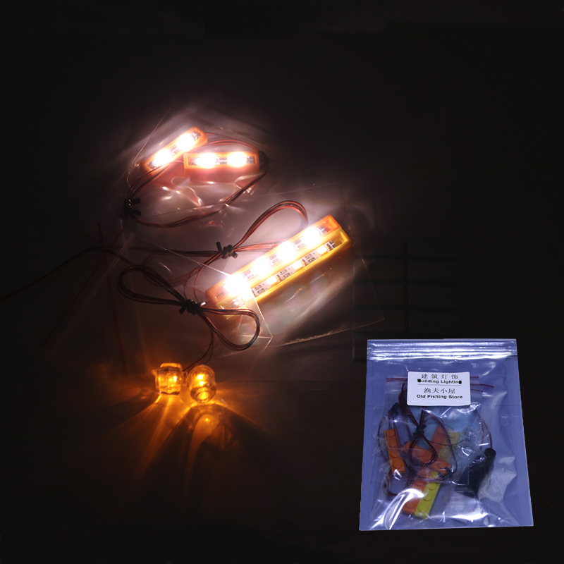 Led Light Set For Lego Building City Street 21310 for 16050 Old Fishing Store Blocks Toys Creator City Street Lighting Set