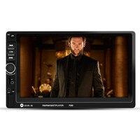 7 Wince HD 1080 P TFT цифровой экран сенсорный автомобильный радиоприемник фиксированная Передняя панель сбой питания память Bluetooth Обратная функци