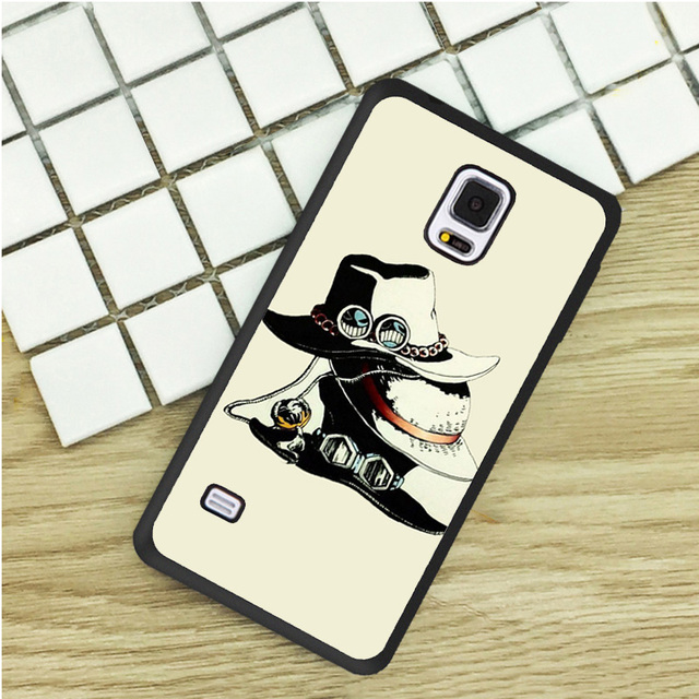 Rufy Ace Sabo delle cappelli One Piece TPU Casse Del Telefono Per Samsung  Galaxy S3 S4 ... e73669fee24a