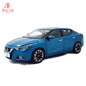 1/18 1:18 Scale Nissan Lannia (Maxima) 2015 Blue Static Simulation Diecast Alloy Model Car Gifts Collections