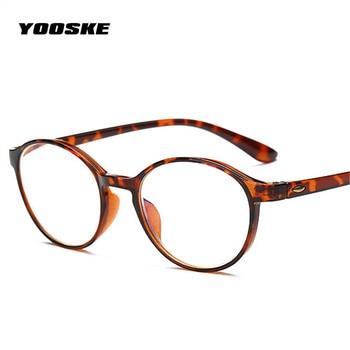 3d2e17aced YOOSKE TR90 ultra-luz gafas de lectura los hombres y las mujeres Material  de resina mujer hombre lectura gafas de presbicia 1,0, 1,5, 2,0, ...